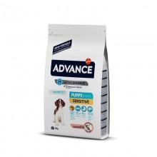 Advance  Sensitive Somonlu Yavru Köpek Maması 3 KG