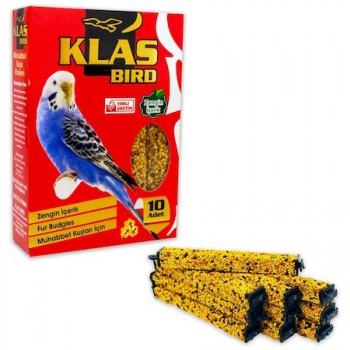 Klas Bird Muhabbet Kuşu Krakeri Ballı 10'lu Paket