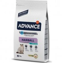 Advance Hindili Kısırılaştırılmış Hairball Kedi Maması 3 KG