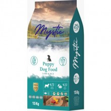 Mystic Kuzulu Ve Pirinçli Düşük Tahıllı Yavru Köpek Maması 1 Kg Açık