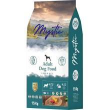 Mystic Düşük Tahıllı Kuzu Etli Yetişkin Köpek Maması 1 KG Açık