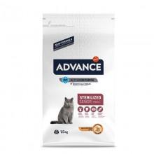 Advance 10 Yaş ve Üzeri Kısırılaştırılmış Tavuklu Kedi Maması 1,5 KG