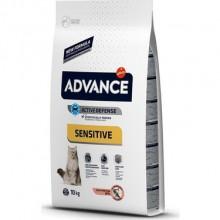 Advance Sensitive Yetişkin Kedi Maması Somonlu 10 KG