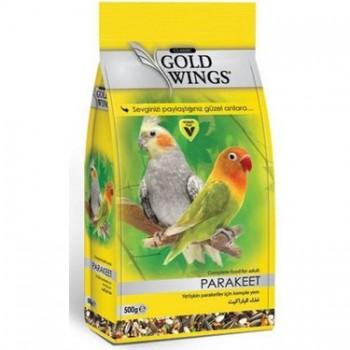 Gold Wings Classic Parakeet Papağan Yemi 500 Gr