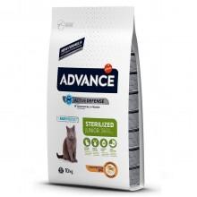 Advance Tavuklu Kısırlaştırılmış Kedi Maması Junior 10 KG