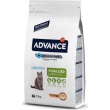 Advance Tavuklu Kısırlaştırılmış Kedi Maması Junior 1,5 KG