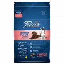 Felicia kuzulu yavru köpek maması 15 KG
